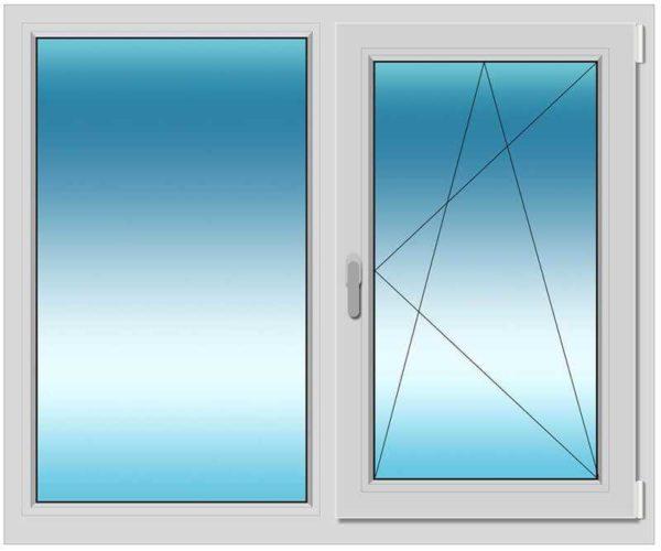 2. окно высота 1300 ширина 1200 цена от 6100 р.