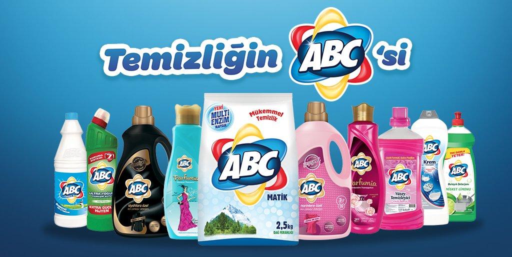 Турецкая бытовая химия АВС