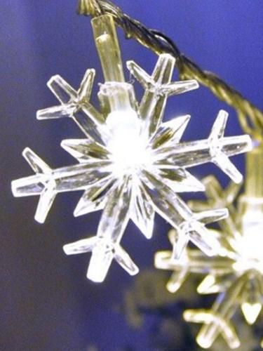 Screenshot 2 5 Гирлянда светодиодная снежинки, 5 метров , 20 ламп