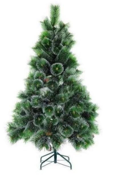 Screenshot 3 3 Искусственная пушистая елка (180 см) с настоящими шишками и снежным напылением + гирлянда на 100 ламп в подарок