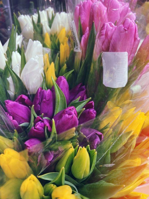 5 тюльпанов в букете, ТОП продаж