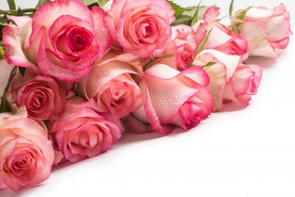 222 Подарочный букет мыльных роз