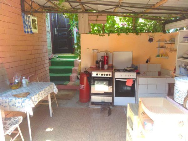 У Ясны гостевой дом кухня