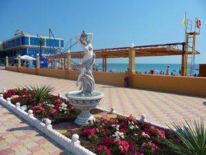У Ясны гостевой дом пляж Багратион