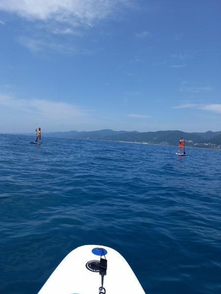 SUP серфинг в Лазаревском